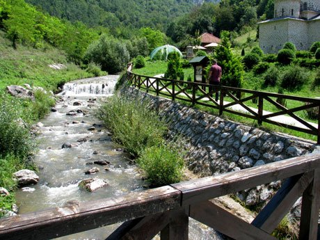 Serbia-travel-Davidovica-Monastery-river-Glimpses-of-The-World
