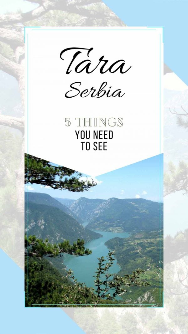 TARA SERBIA: Five things you need to see